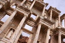 Free The Library Of Celsus At Ephesus Stock Photo - 15668580