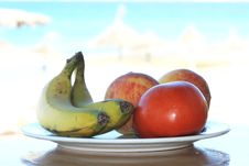 Free Fruits On The Beach Stock Image - 15669001