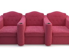 Free Cinema Chairs Stock Images - 15669714