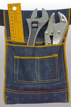 Free Tool Bag Royalty Free Stock Photos - 15669728