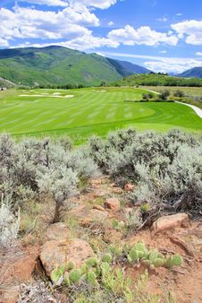 Free Mountain  Golf Course Stock Image - 15669761