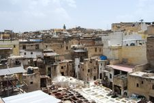Free Tannery In Fes Royalty Free Stock Image - 15669806