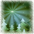 Free Firs And Snowflakes Royalty Free Stock Photo - 15677005