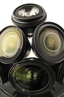 Free Collection Of Lenses Royalty Free Stock Images - 15670039