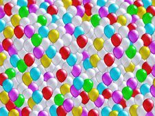 Free Holiday Balloons Background Stock Photography - 15670422