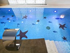 Free Swimming Pool Interior Royalty Free Stock Photography - 15670477