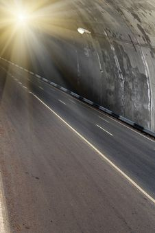 Free Tunnel  Underground  Road Stock Photos - 15670633