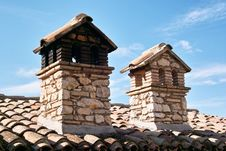 Free Two Chimneys Stock Photography - 15670642