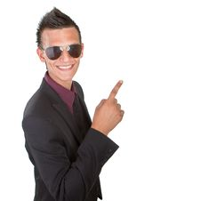 Free Young Trendy Businessman With Sunglasses Stock Images - 15670974