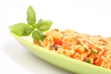 Free Risotto With Tomatoes Royalty Free Stock Photography - 15671387
