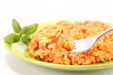 Free Risotto With Tomatoes Royalty Free Stock Photo - 15671435