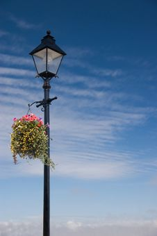 Free Vintage Lamp Post Scene Royalty Free Stock Photography - 15671607