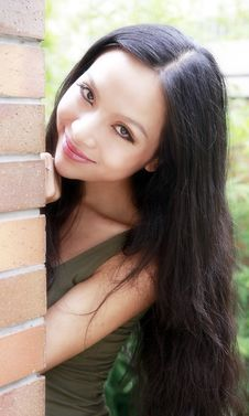 Free Beautiful Asian Girl Stock Photography - 15671852