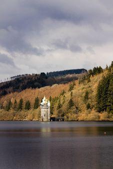 Free Lake Vyrnwy Victorian Dam Wales Stock Image - 15672431
