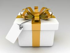 Free Yellow Gift Royalty Free Stock Photography - 15672607
