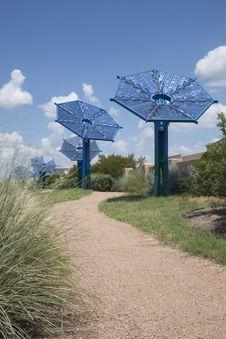 Free Solar Panels Royalty Free Stock Photography - 15673987
