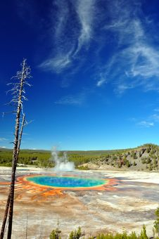 Free The Grand Prismatic Spring Stock Images - 15674564