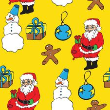 Free Christmas Pattern Stock Images - 15674944