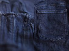 Jeans Background Stock Images