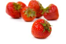 Free Ripe Strawberry Royalty Free Stock Photography - 15675507