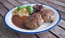 Free Minced Beef Royalty Free Stock Photography - 15675657