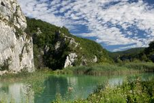 Plitvice Natural Park Royalty Free Stock Image