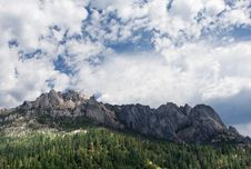 Free Castle Crags Stock Photography - 15675942