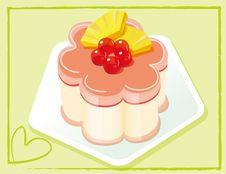 Free Cherry Cake Stock Image - 15676601