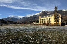 Free Mountain Village Royalty Free Stock Photo - 15676865