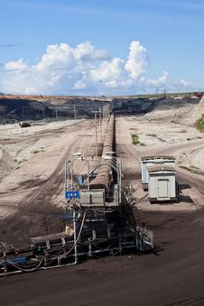Free Lignite Mine In North Of Thailand Stock Image - 15677571