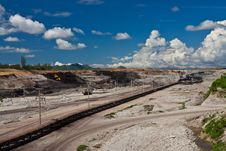 Free Lignite Mine In North Of Thailand Royalty Free Stock Image - 15677586