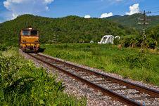Free Train Bridge In Norhtern Thailand Royalty Free Stock Images - 15678219