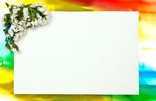 Paper Blank Stock Photo