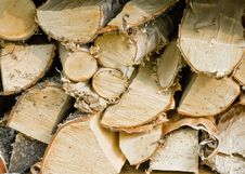 Free Birch Firewood Royalty Free Stock Photos - 15678718
