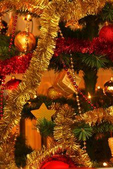 Free Christmas Tree Closeup Royalty Free Stock Photos - 15678928