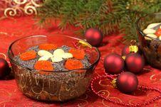 Free Christmas Dessert Royalty Free Stock Photos - 15679008
