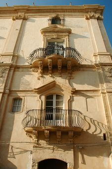 Free Old City Of Noto Royalty Free Stock Photos - 15679468