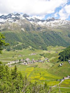 Free View Of The Valley  Reintal  In Southtyrol Royalty Free Stock Photo - 15679535