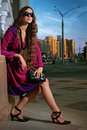 Free Beauty Woman In The City Royalty Free Stock Photo - 15688875