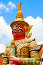 Free The Giant Statue In Grand Palace, Bangkok Thailand Stock Image - 15688981