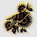Free Retro Decorative Bird Stock Photos - 15689033