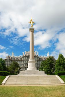 Free First Division Monument, Washington D.C. Royalty Free Stock Photos - 15680108