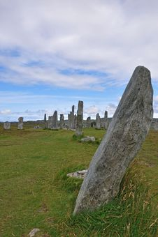 Callanish Stone Circle Stock Image