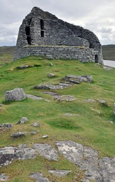 Free Old Broch House, Lewis, Scotland Stock Images - 15680574