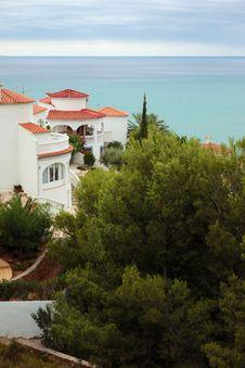 Free Mediterranean Houses Royalty Free Stock Image - 15680676