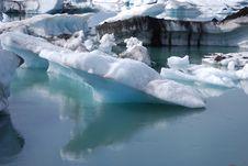 Glacial Lagoon Royalty Free Stock Image