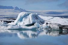 Glacial Lagoon Stock Photos