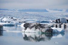Free Glacial Lagoon Stock Photo - 15681390