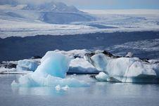Free Glacial Lagoon Royalty Free Stock Photos - 15681428