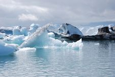 Free Glacial Lagoon Stock Image - 15681501